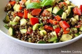 lentilles cuisine de lentilles aux légumes