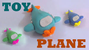 play doh clay modeling of a toy plane play doh transport