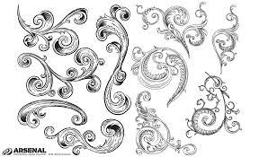 adobe illustrator ornaments vector pack
