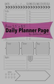 free printable daily planner pages 2014 191 best printable planners images on pinterest calendar planners
