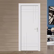porte chambre cuisine peint blanc en bois chambre conception de la porte hdf