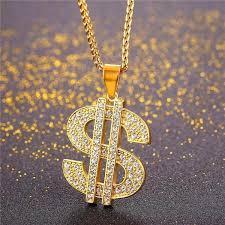 hip hop jewelry necklace images Buy coin hip hop chains us dollar money necklace pendant unisex jpg