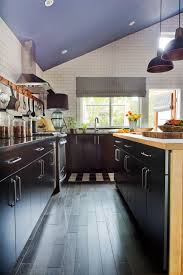 52 dark kitchens with wood and black kitchen cabinets high