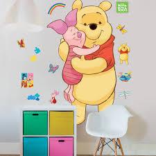 walltastic disney pooh wall sticker set