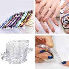 rolls striping tape line nail art gallery nail art designs