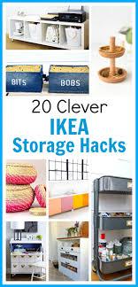 ikea storage hacks 20 clever ikea storage hacks a cultivated nest