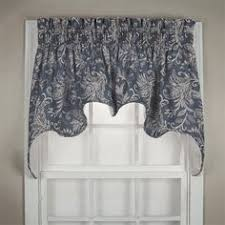 Country Style Kitchen Curtains And Valances Paisley Prism Duchess Swag Kitchen Curtains Teal Blue And Swag