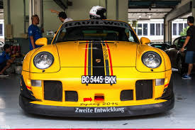 rwb porsche yellow renndrive road to sepang 2015 mcclubz automotive
