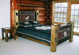 Rustic Bedroom Set Plans Awesome Wooden Rustic Bed Frame Pictures Home Design Exterior