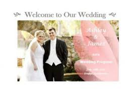 Design Your Own Wedding Program Design Your Own Wedding Programs Outside The Box Wedding
