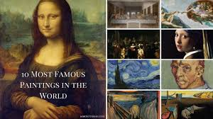 The Most Famous Paintings 10 Most Famous Paintings In The World Youtube