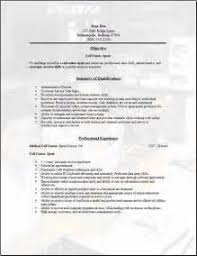 Call Centre Sample Resume Son Of Saturn Thesis Download Flac Free Template On How To Write A