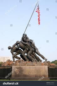 Flag Iwo Jima Marine Corps War Memorial Iwo Jima Stock Photo 39298639 Shutterstock