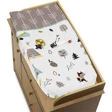 Jojo Baby Bedding Sweet Jojo Designs Outdoor Adventure Collection Changing Pad Cover