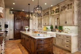China Kitchen Cabinet Distressed China Cabinet Kitchen Traditional With Arched Windows