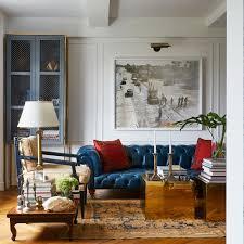 Living Room Interior Design Pictures Inside Interior Designer Tim Campbell U0027s Debonair New York City