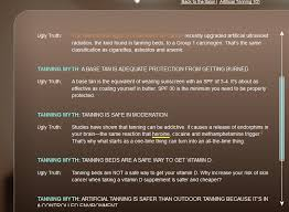 Do You Get Vitamin D From Tanning Bed Tanning Beds U003d Cocaine Says Government Archive Beyond Ca Car