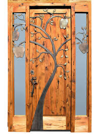 Solid Exterior Doors Wood Entry Doors And Iron Design Ideas Decors Wood Entry Doors