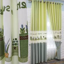 Blue And Lime Green Curtains Blue And Lime Green Color Block Curtains