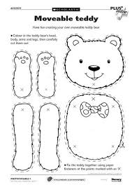25 teddy bear template ideas bear