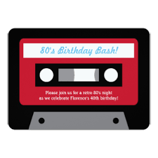 cassette tape invitations u0026 announcements zazzle