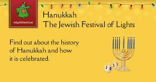 hanukkah the jewish festival of lights christmas customs and