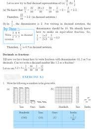 ncert class vi mathematics chapter 8 decimals aglasem schools