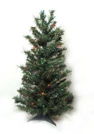 3 foot christmas tree with lights 24 99 44 99 3 double petal reflector artificial christmas tree by