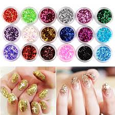 online buy wholesale nail art hexagon glitter from china nail art