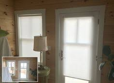 French Door Shades And Blinds - roller shades designer roller shade french door application with