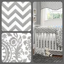 Gray And White Chevron Crib Bedding 38 Best Crib Bedding Images On Pinterest Baby Cribs Cribs And