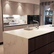 kitchen designs and more italian concept sg shared this waterfall island countertop in