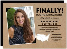 what to put on graduation announcements graduate school graduation invitations graduate school