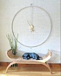 minimalist wall clock large wall clocks that compromise on style minimalist wall clocks uk