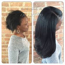your sew in should look like a head healthy that u0027s