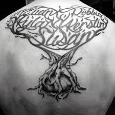 60 family tree designs for tattoos for
