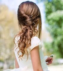 coiffure mariage enfant coiffure facile pour enfant cobtsa