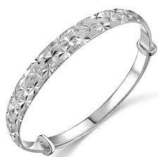 bracelet silver bangles images Silver bracelets wholesale cheap price stars bracelet silver jpg