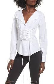 corset blouse wayf molly corset blouse nordstrom