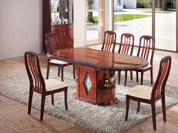 dt45 dining table in dark brown two tone by pantek w options