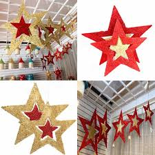 ornaments shiny tree ceiling wall hanging