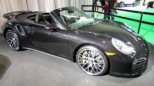 porsche s convertible 2014 porsche 911 turbo s convertible exterior and interior