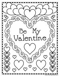 coloring pages fabulous valentine color page coloring castle
