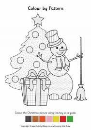 snowman colouring 3