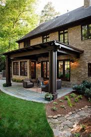 Covered Patio Ideas For Backyard by Best 25 Backyard Patio Designs Ideas On Pinterest Patio Design