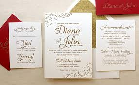 wedding invitations gold and white the casablanca suite classic letterpress wedding invitation