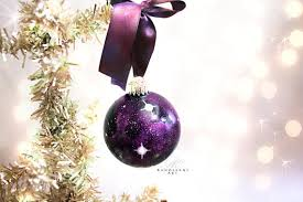 hand painted christmas ornaments inspired by the