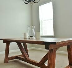 diy dining room light joyous pottery barn benchwright farmhouse table ana pottery barn