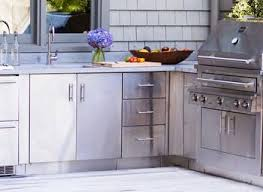 Kitchen Cabinet Refacing Kits Appealing Outdoor Kitchen Cabinet Kits Yeo Lab