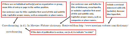 how to cite a website article with no date in apa format